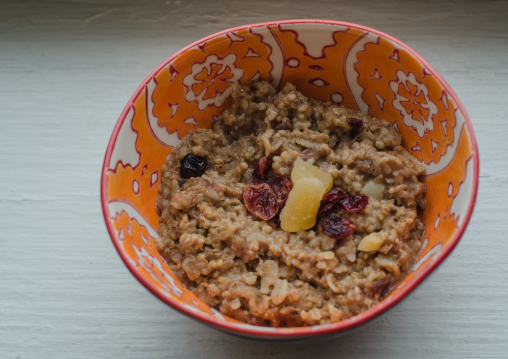Quick & Simple Steel Cut Oatmeal