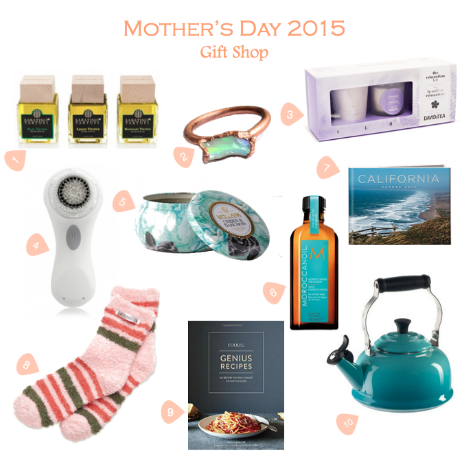 Mother's Day Gift Guide: 2015