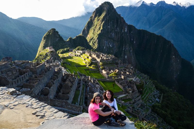 Mom and I at Machu Picchu