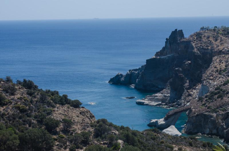 Hike down to Gerontas beach