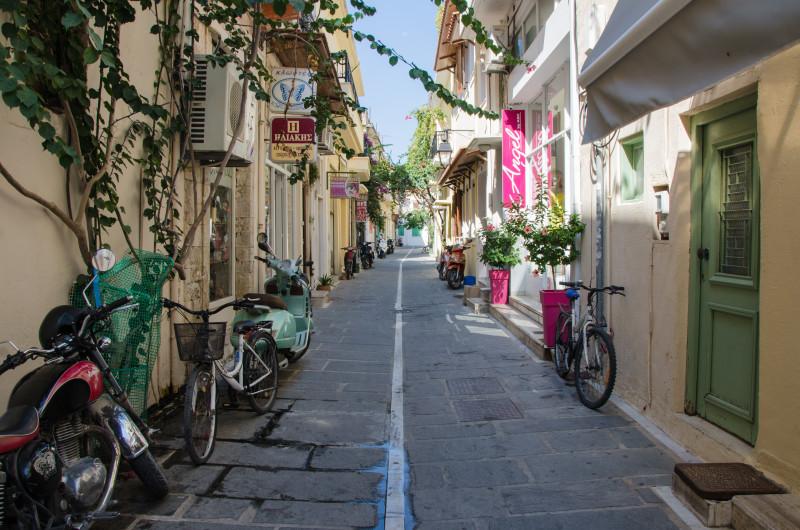Morning walk in Chania