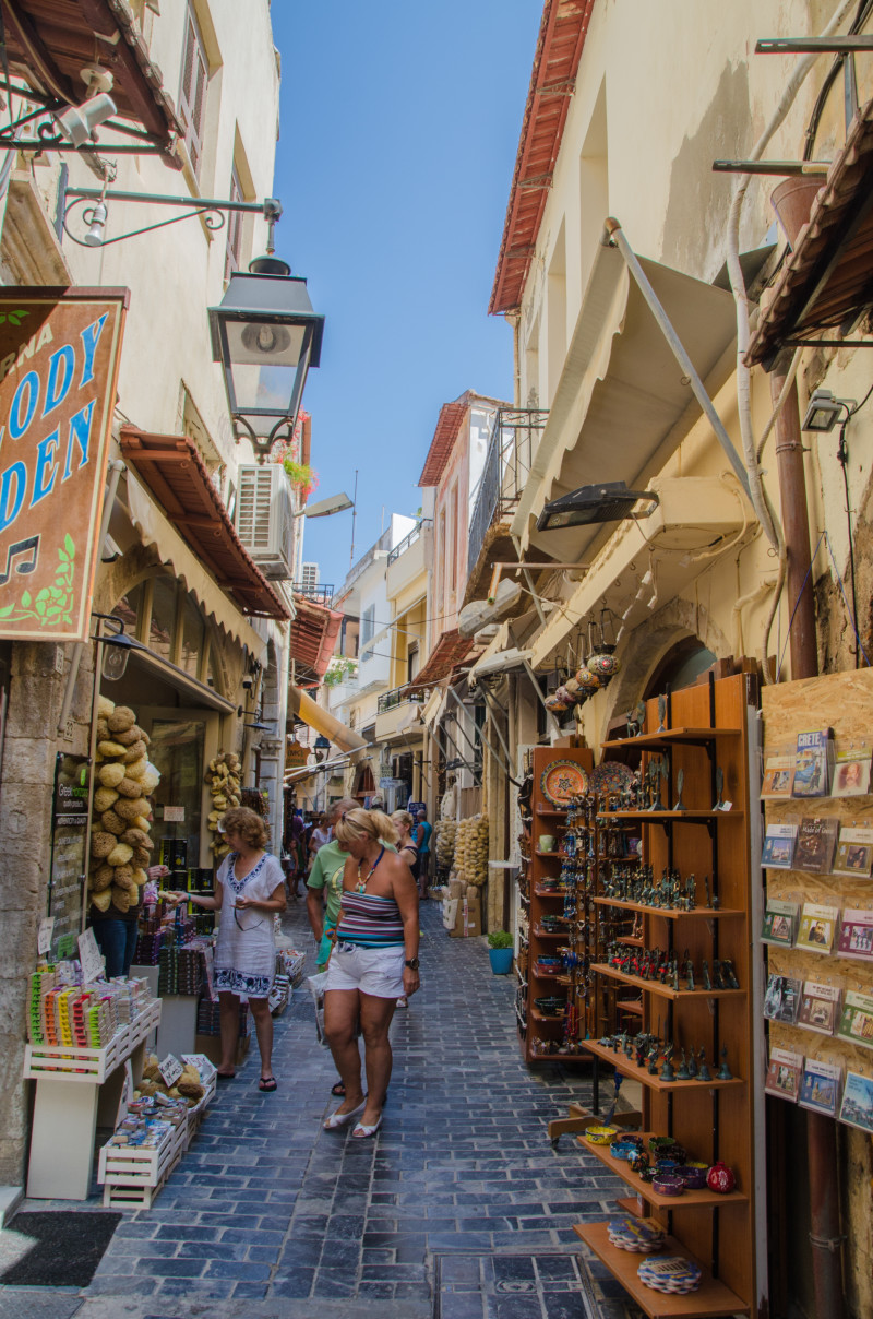 Rethymno market - got some great stuff here!