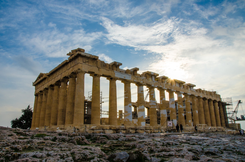 Parthenon in the late afternoon - stunning