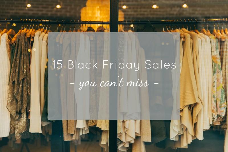 Top Black Friday Sales 2015