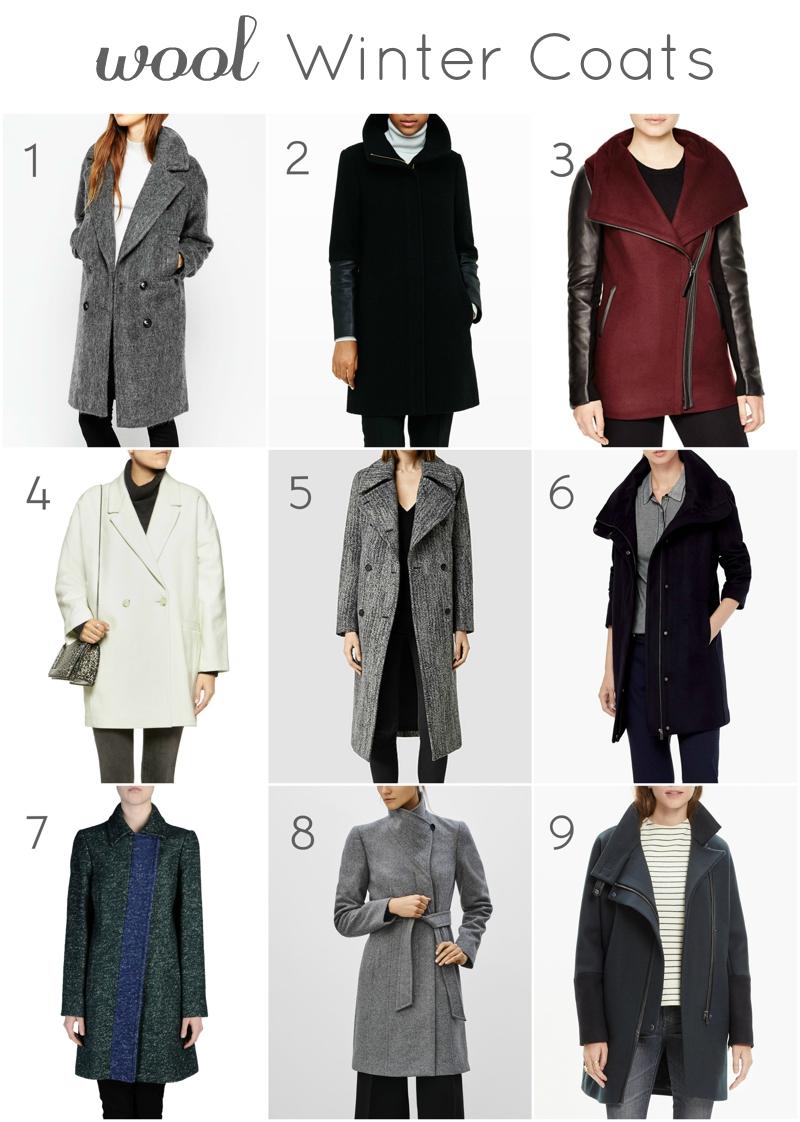 Wool Winter Coats