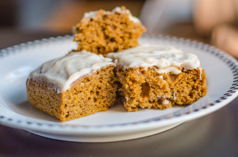 Healthy Pumpkin Square Recipe