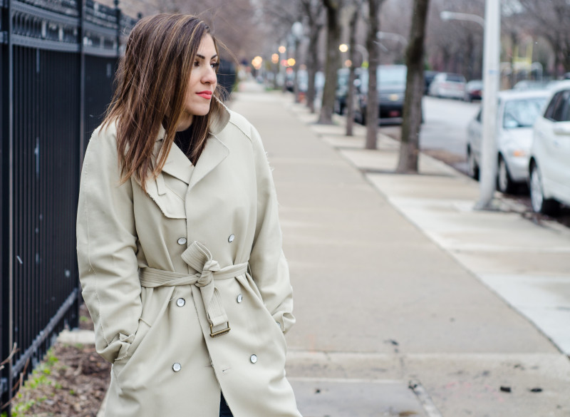 Twist on the Classic Trench