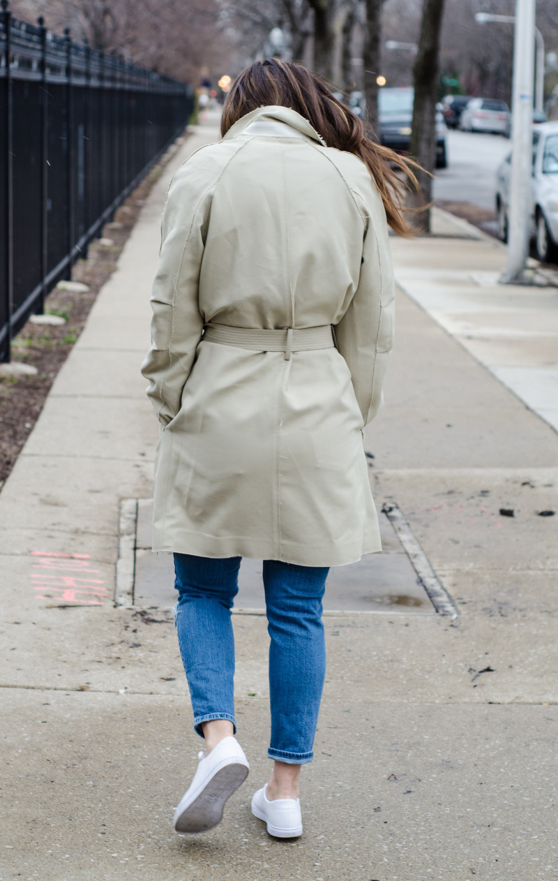 Classic Trench with an Edge