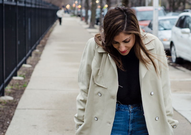 Classic Trench With Edge