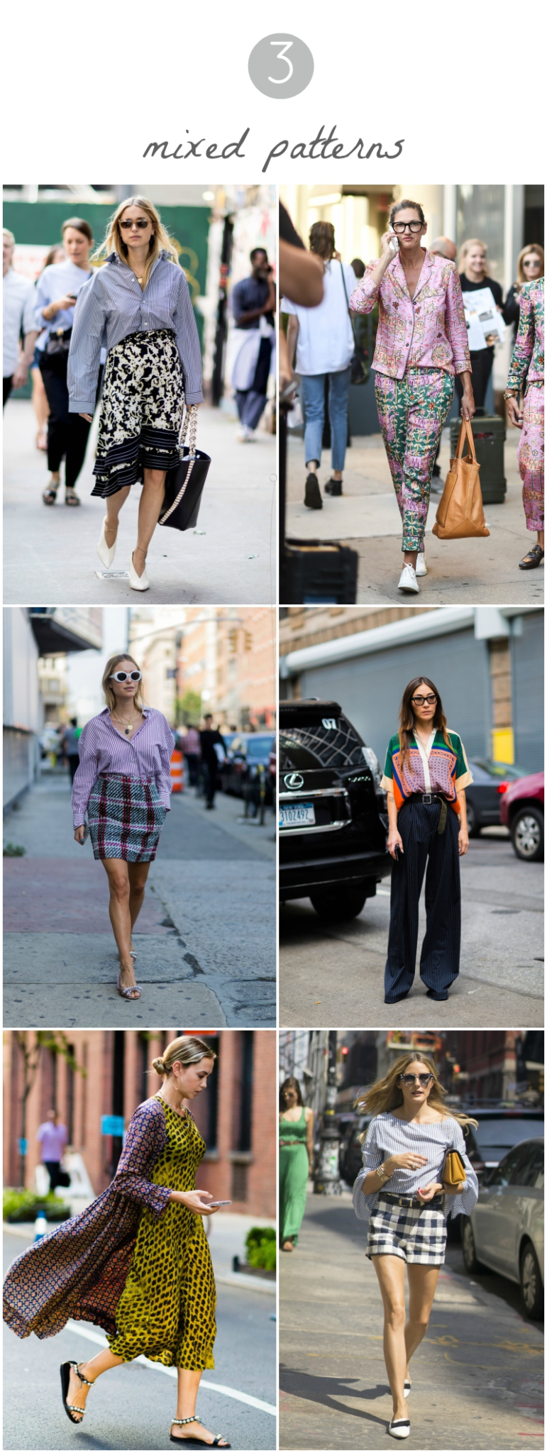 NYFW - Mixed Patterns