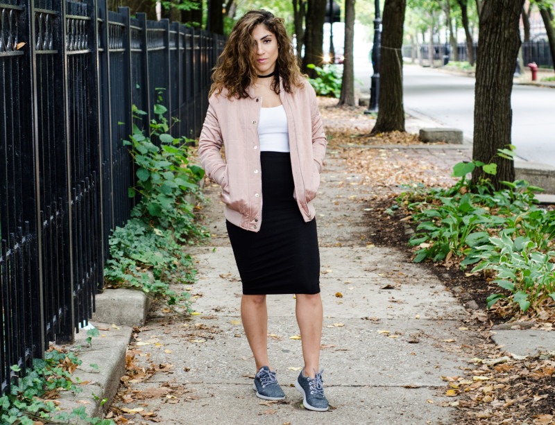 Blush Bomber Jacket