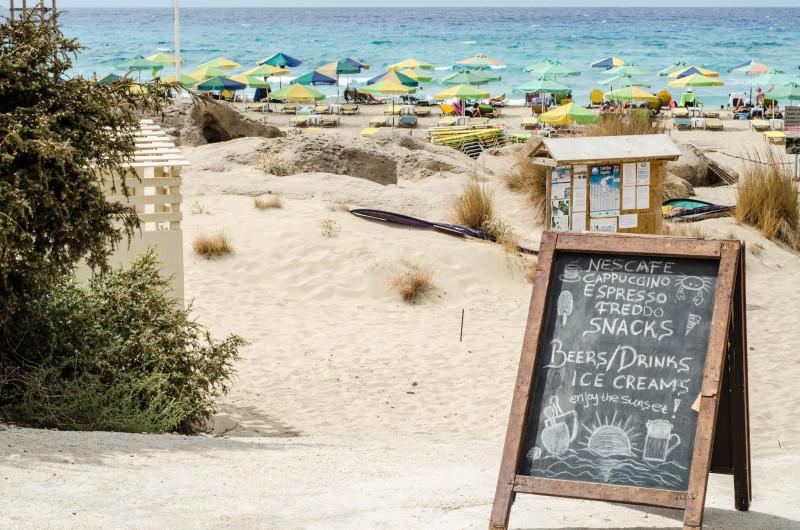 Falassarna Beach Rhodes Greece