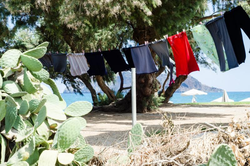 Clothes Line in Chania, Crete