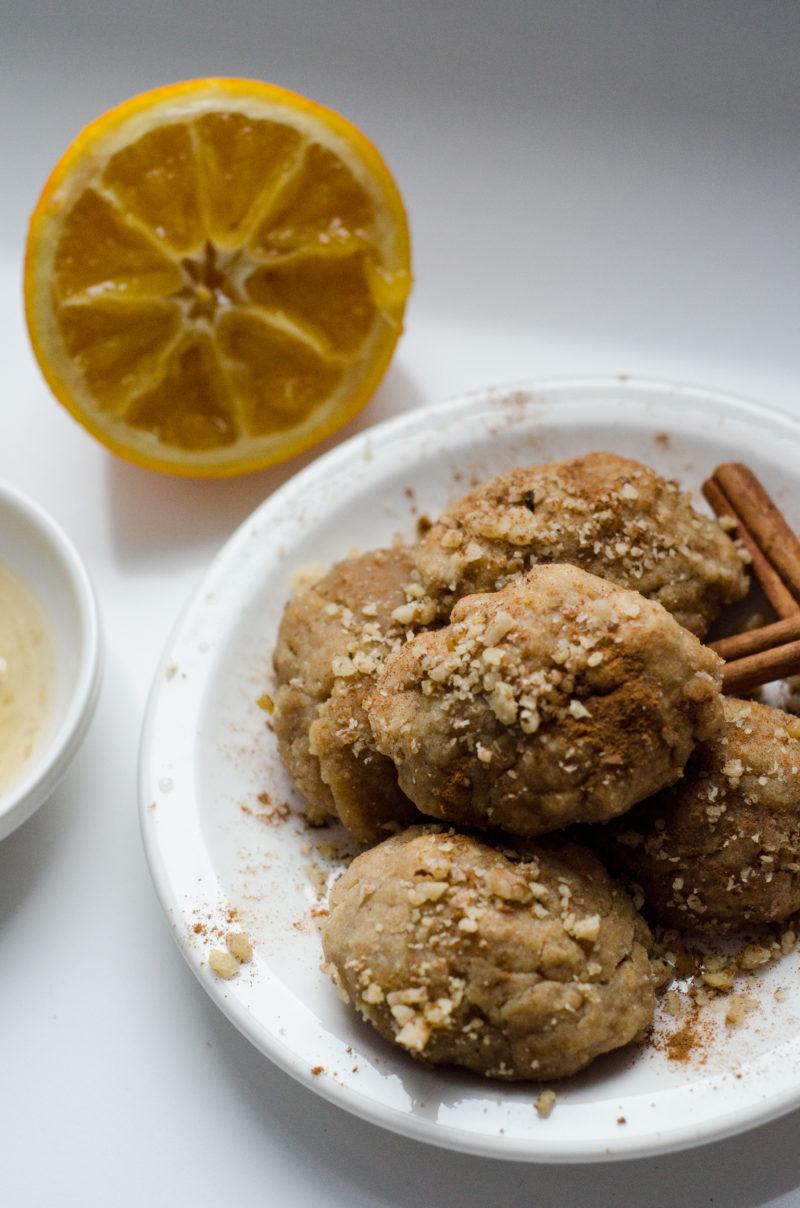 Greek Christmas Cookies - Melomakarona
