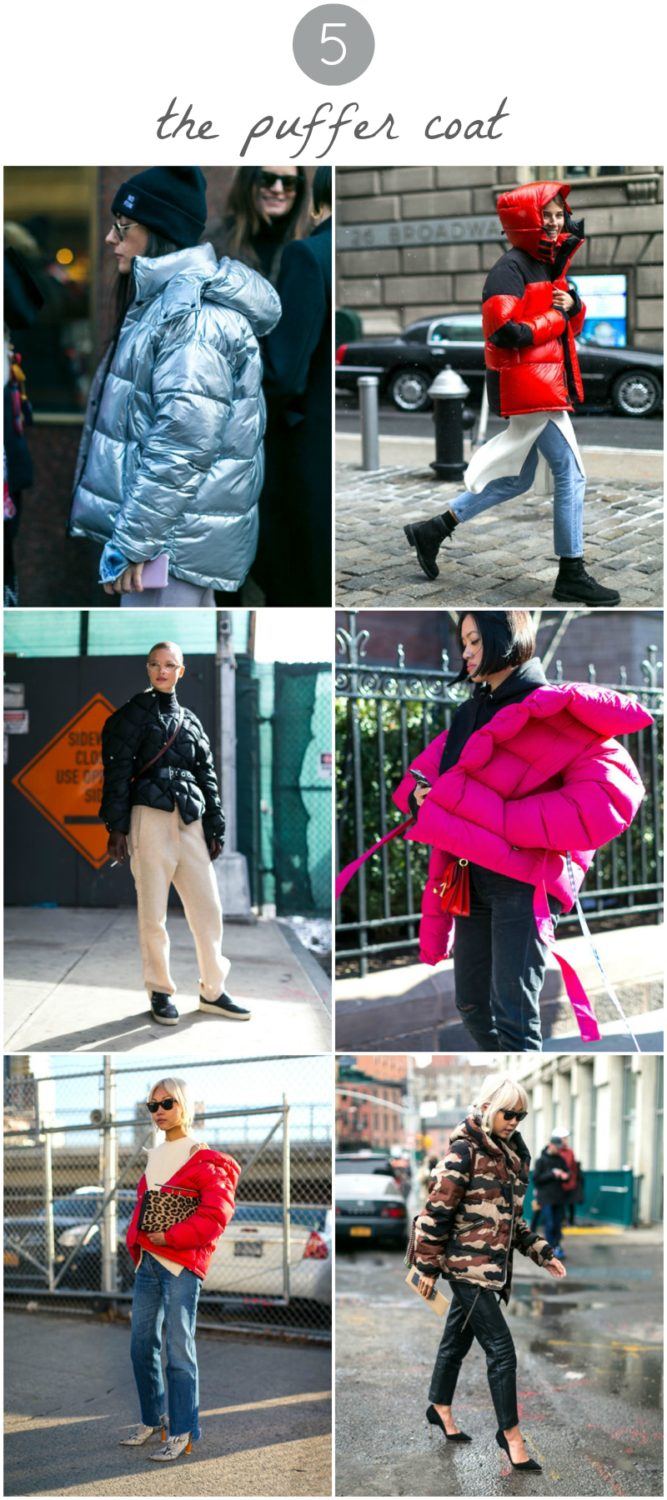 puffer coat outfits