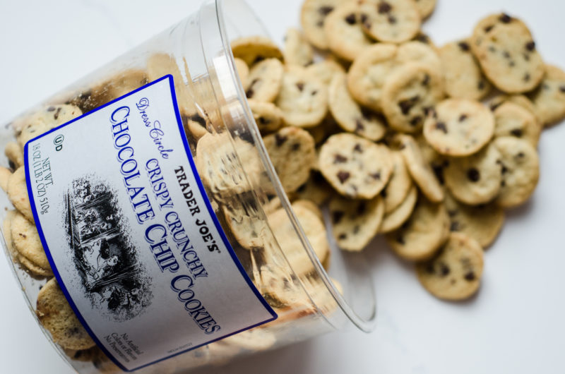 Trader Joe's Dress Circle Chocolate Chip Cookies