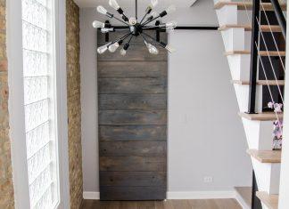 Affordable Modern Barn Door