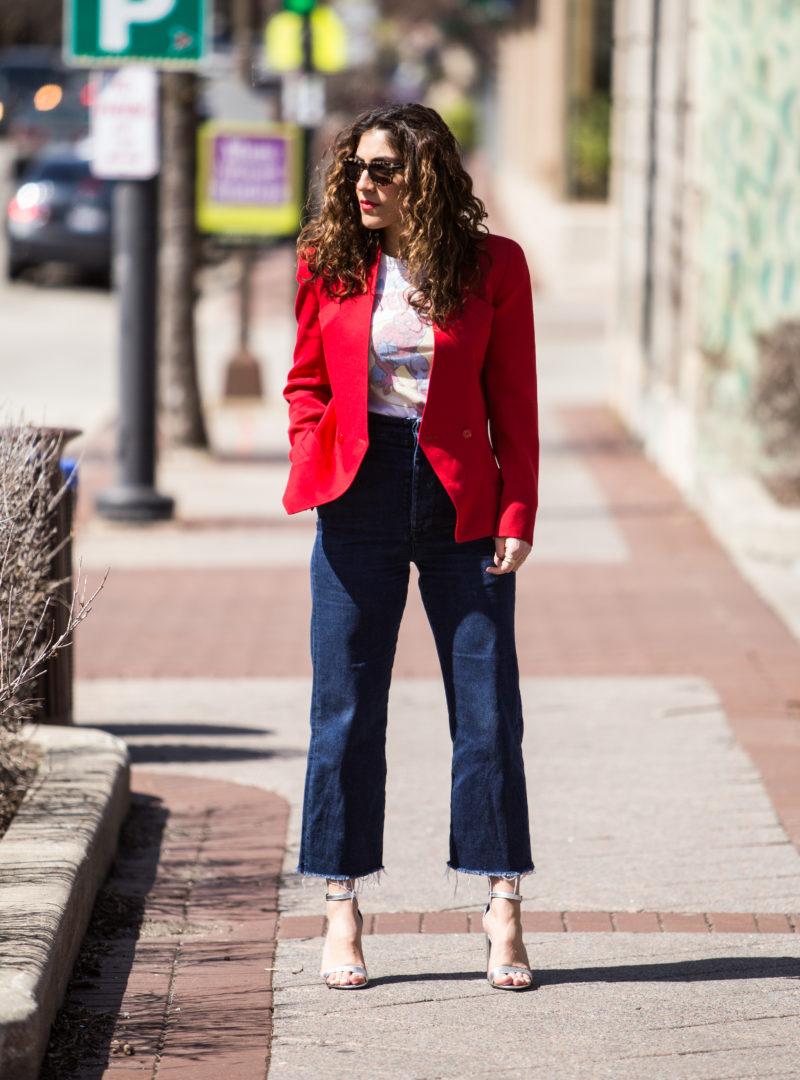 Women's Vintage Blazer