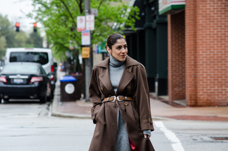 How to wear a trenchcoat