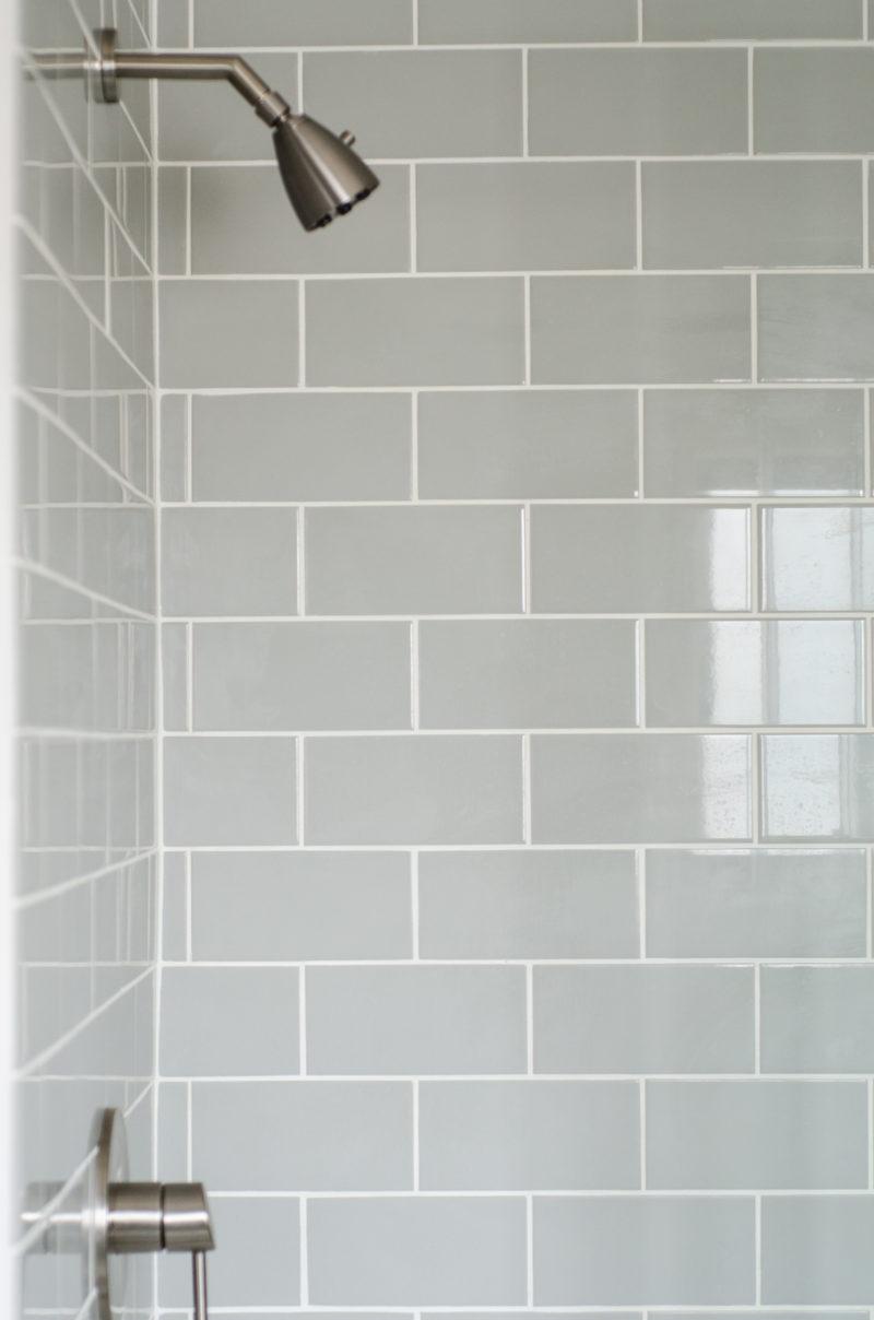 Subway Tile in Shower