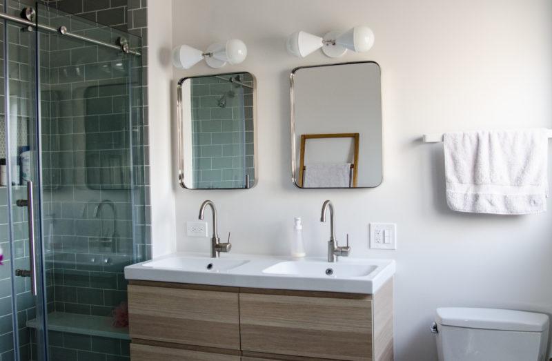 Our Modern Minimalist Bathroom