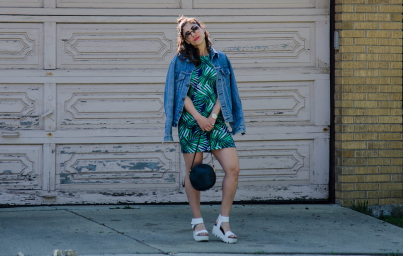 Palm Print Outfit Ideas