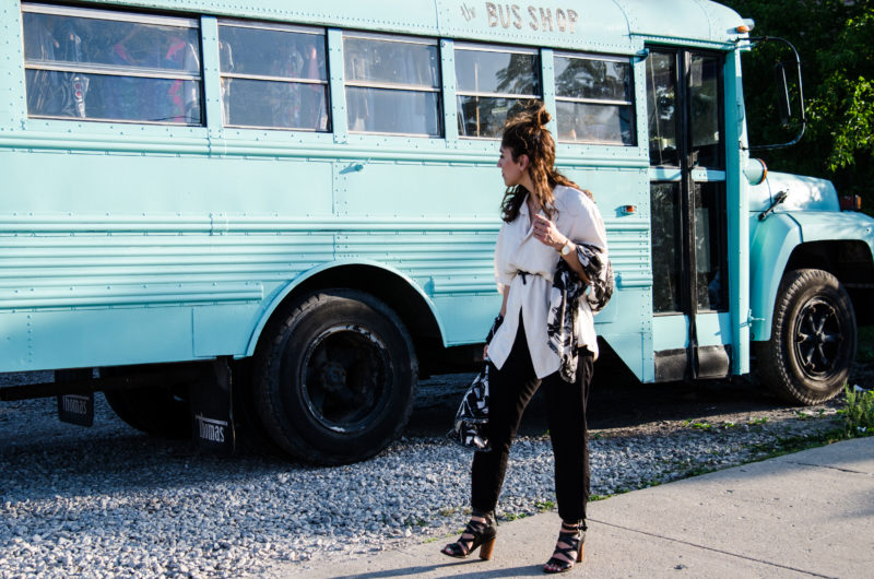 Ways to Wear an Oversized Blouse