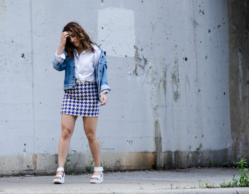 90s inspired skirts