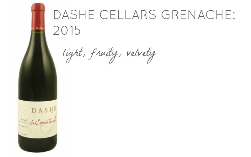 Dashe Cellars Grenache 2015