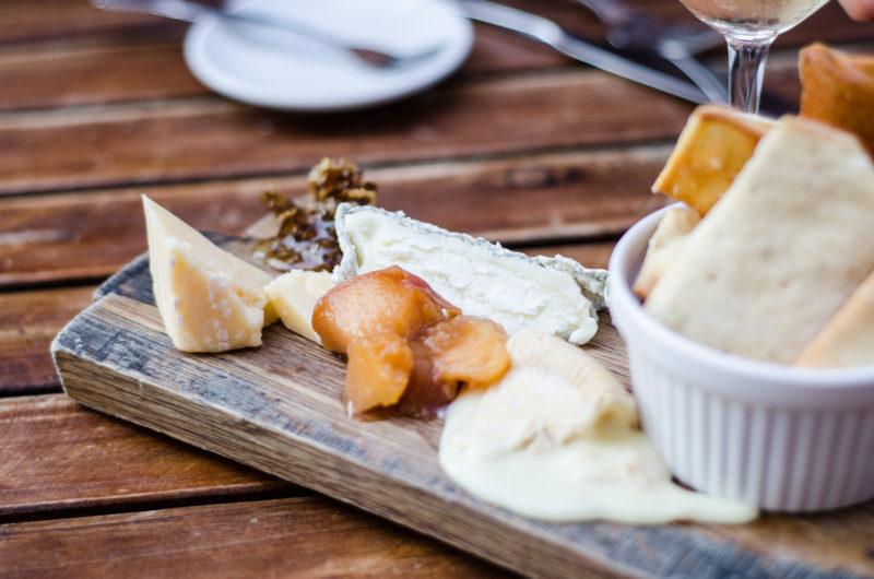 Cheese boards at Cava KC