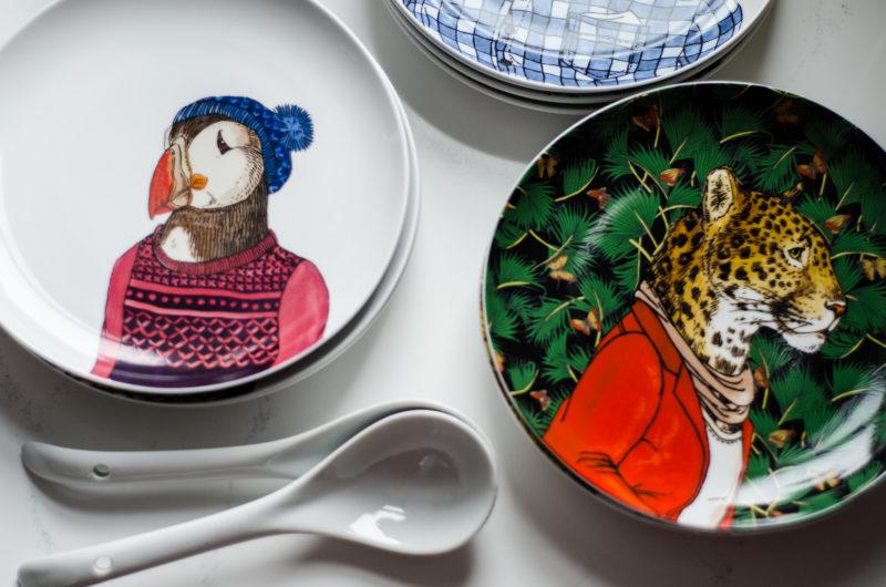 Seasonal Salad Plates