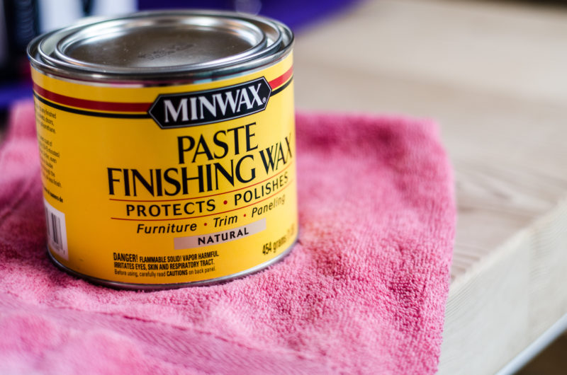 Miniwax Paste Finishing Wax