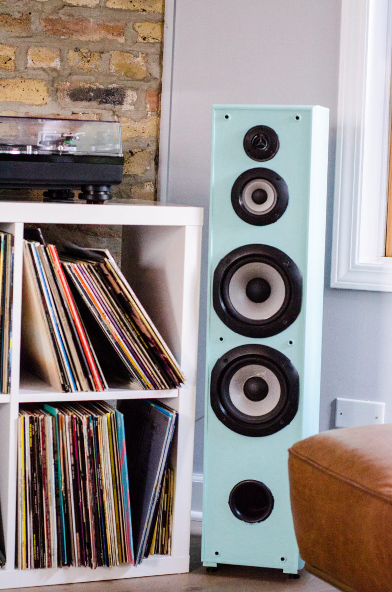 An Easy DIY: How to Paint Speakers