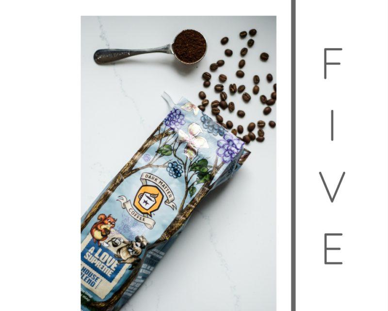 Dark Matter Coffee