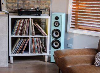 vinyl record storage idea