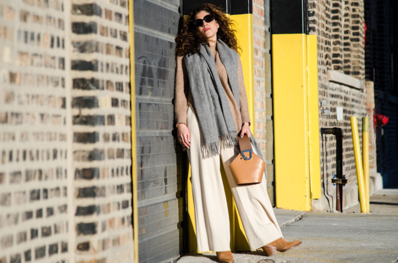How to wear neutrals in fall