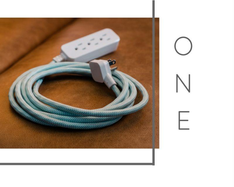 Pretty extension cords