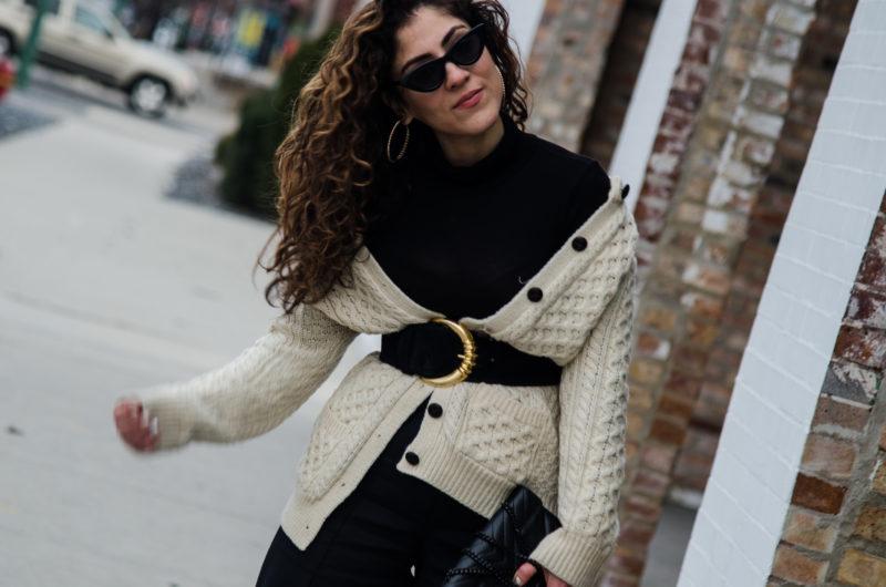 irish cardigan sweater