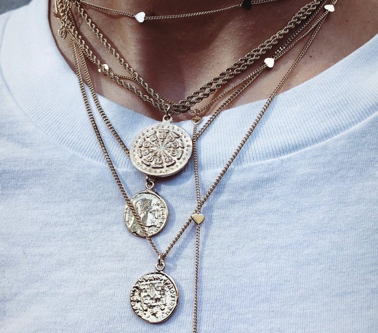 monete necklaces img coin shop gabbana necklace watches dolce jewelry brands brass roman pendants gold vice fashion medium