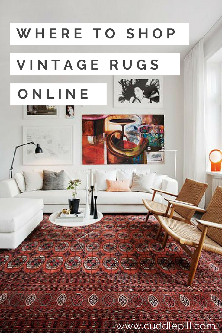 where to find vintage rugs