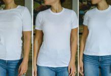 best white tee shirts